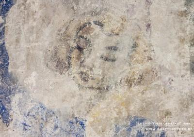 Der Kopf der Landgräfin von Thüringen. Das Bild wurde ebenfalls bearbeitet. Text: Uta Fischer © 2014, All rights reserved. Foto: © WILDFISCH
