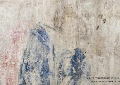 Die Darstellung  des Dichters Herrn Heinrich von Veldeke: Die Figur weist sehr große Ähnlichkeiten mit der Miniatur des Herrn Heinrich von Veldeke auf.  Kopf, Köperhaltung, insbesondere die Geste der Hand an der geneigten Wange, stimmen ahezu perfekt überein. Text: Uta Fischer © 20n14, All rights reserved. Foto: © WILDFISCH