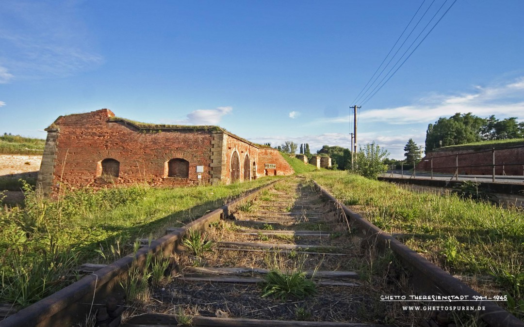 Gleise und Bahntrasse