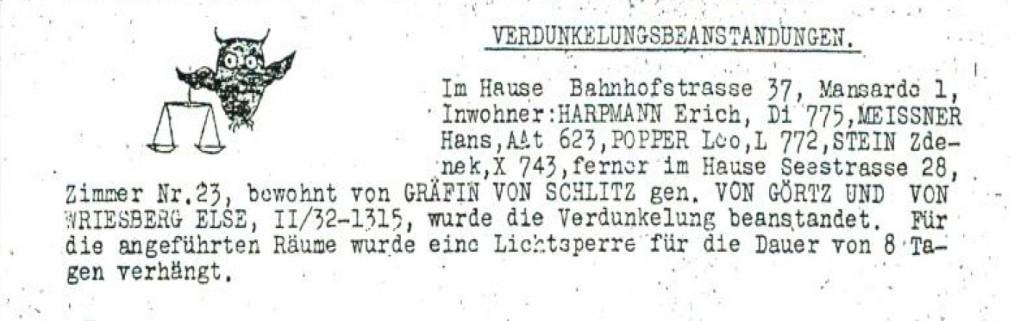 DOCUMENT.JMP.SHOAH/T/2/A/2r/145/025, Mitteilungen der Jüdischen Selbstverwaltung Nr.31 vom 27.Juli 1944, bearbeiteter Ausschnitt