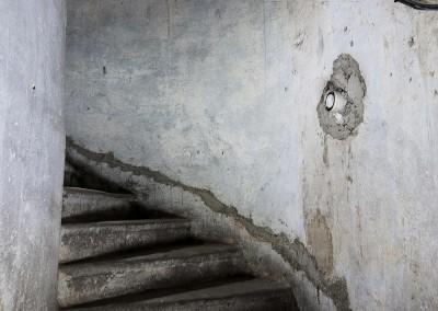 Aufgang zum Dachboden.Text: Uta Fischer © 2014, All rights reserved